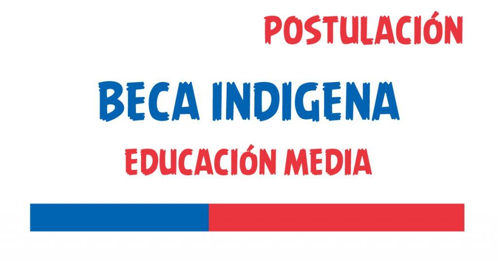 beca indigena educacion media
