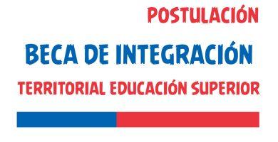 postulacion beca de integracion territorial educacion superior