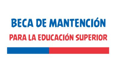 beca de mantencion para la educacion superior