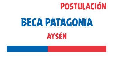 postulacion beca patagonia aysen
